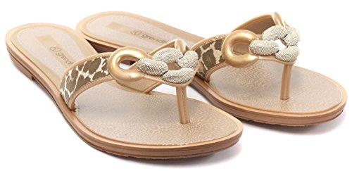 Grendha Brasil Exotic Thong Donna Infradito Bronze
