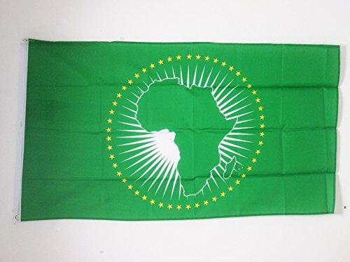 AZ FLAG Flagge AFRIKANISCHE Union 150x90cm - Afrika Fahne 90 x 150 cm - flaggen Top Qualität