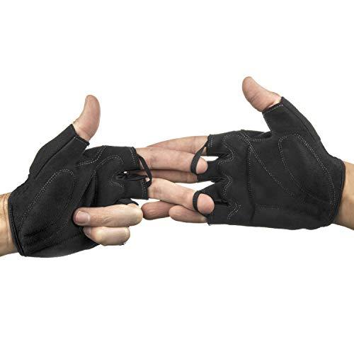 Radsport Handschuhe Herren und Damen, Fahrradhandschuhe für Rennrad, Mountainbike, Krafttraining, Fitness, Reiten, Crossfit, Bergsteigen, Sport - 5