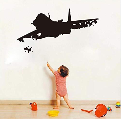 xlei Wandaufkleber Wasserdichte Cartoon Kinder Spielzeug Flugzeug Vinyl Wandaufkleber Flugzeug...