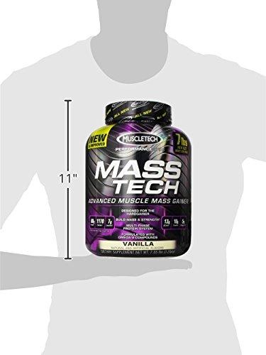 Muscletech Mass-Tech - Vanilla, 1er Pack (1 x 3.2 kg) - 7