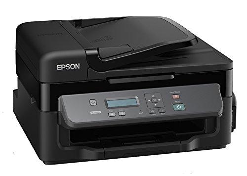 Preisvergleich Produktbild Epson WorkForce M200 Tintenstrahl A4 Schwarz - Multifunktionsgeräte (Tintenstrahl, Mono printing, Mono copying, Mono scanning, Schwarz, 34 Seiten pro Minute)