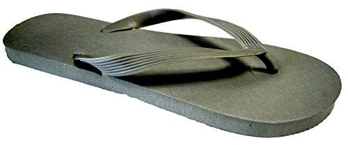 Octave , Herren Zehentrenner Grau - Solid Plain Design - Grey