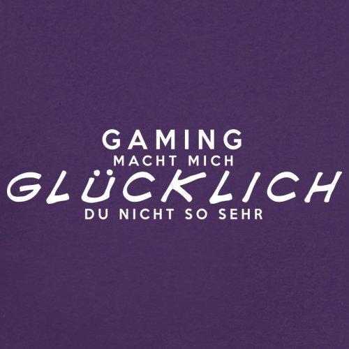 Gaming macht mich glücklich - Unisex Pullover/Sweatshirt - 8 Farben Lila