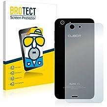2x BROTECT Protector Pantalla para Cubot X10 (Trasero) - Mate, Película Antireflejos