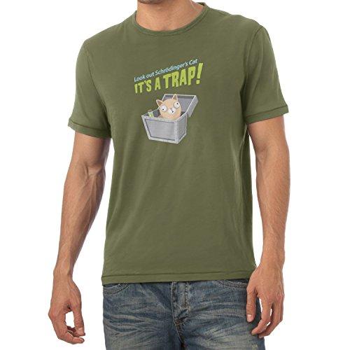 texlab-look-out-schrodingers-cat-herren-t-shirt