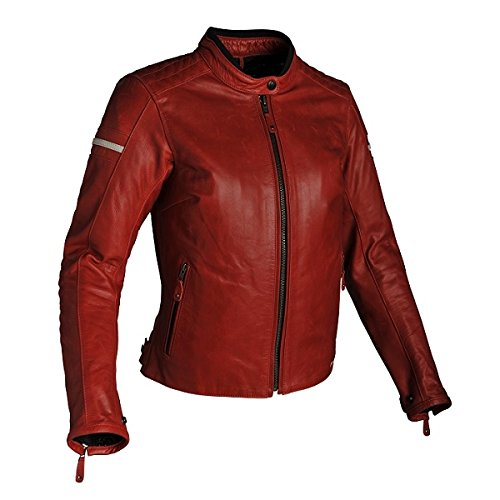 Produktbild Richa Daytona Damen Lederjacke rot 44 - Motorradjacke