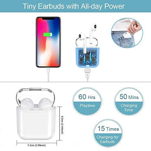 Auriculares Bluetooth,  Auriculares Inalámbricos Auriculares Bluetooth 4.1 In Ear Auriculares Auriculares Estéreo In- Ear Micrófono Manos Libres Incorporado para Apple Airpods Android/iPhone