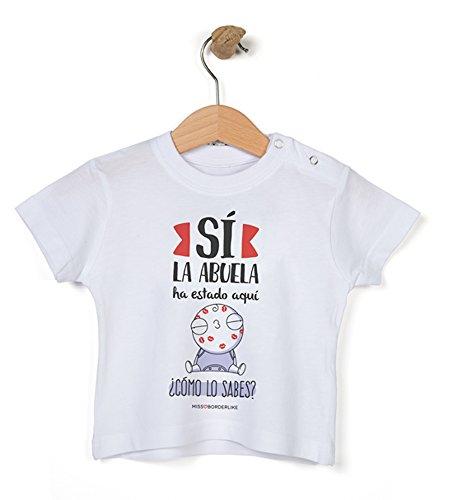Missborderlike - Camiseta manga corta 9 a 12- Sí la abuela ha estado