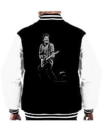 Richard E Aaron Official Photography - Bruce Springsteen Muse No Nukes Benefit September 1979 Men's Varsity Jacket