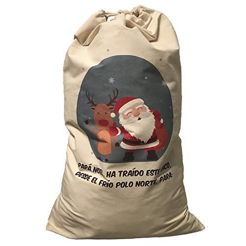 Fun Fan Line - Pack 2 Sacos Personalizables Navidad