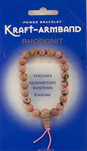 Edelstein-Kraft-Armband, Rhodonit