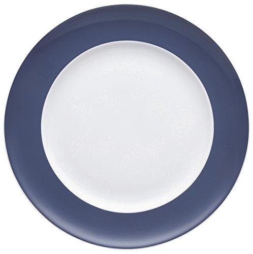 Rosenthal Thomas - Sunny Day - Nordic Blue - Frühstücksteller/Kuchenteller/Dessertteller - Porzellan - Ø 22 cm Rosenthal Thomas Sunny Day