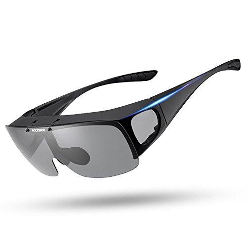 2e738d2aee Gafas de sol polarizadas para hombres y mujeres Conducción pesca Ajuste más  grande Gafas de sol