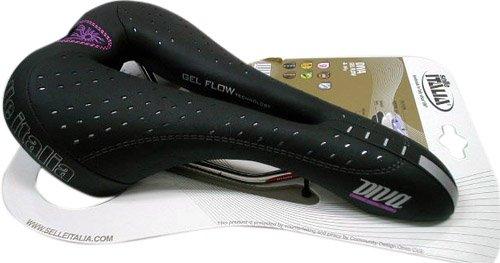Selle Italia Diva Gel Flow 152 x 270 mm Mujer Negro Sill/ín