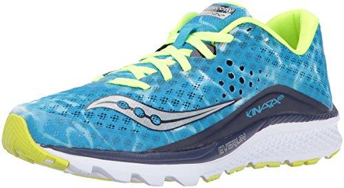 Saucony Women's Kinvara 8 Running Shoe, Blue, 6 UK
