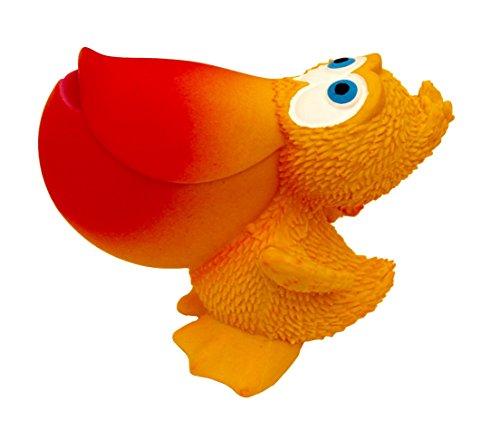 Naturkautschuk Beissring Badewannespielzeug SAMI der Pelican