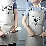 Personalised Kids Star Apron - Personalised Childs Apron - Kids Baking Apron - Baking Gift Idea - Birthday Gift Idea - Bakers Apron