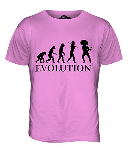 CandyMix Mexikanische Tänzer Evolution Des Menschen Herren T Shirt Rosa