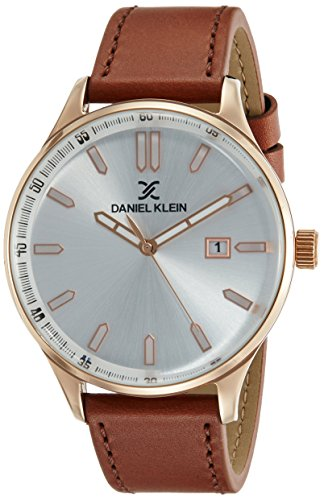 Daniel Klein Premium-Gents Analog Silver Dial Men's Watch-DK11648-5 image