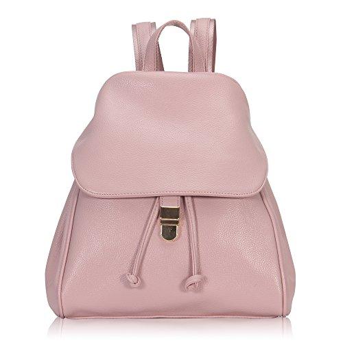 Imagen de veevan  bolso de escuela de las mujeres del bolso de la muchacha de piel sintética rosa
