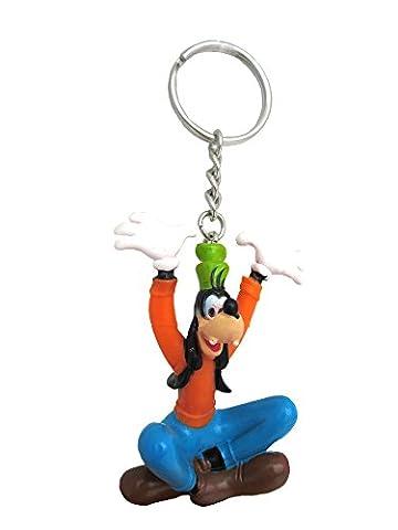 Disney Figural PVC Key Ring Goofy