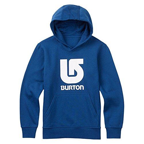 Burton Felpa con cappuccio, con logo verticale, da ragazzo, Ragazzo, Hoodie LOGO VERTICAL, blu, XL