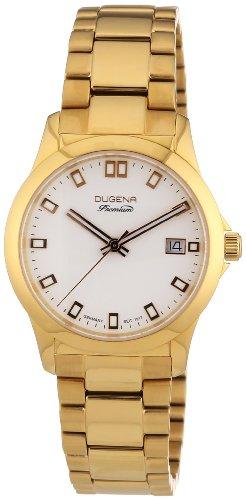 Dugena Women's Quartz Watch with Silver XS Premium Stainless Steel Analog Quartz 7000103