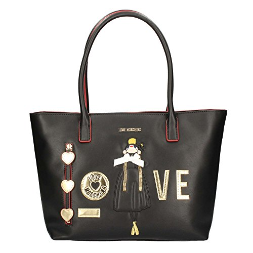 LOVE MOSCHINO JC4302PP04 SHOPPER Donna Nero
