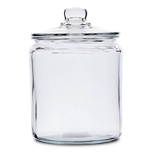 Anchor Hocking Heritage Hill Vorratsglas, vergtetes Glas, 2 l Anchor Hocking Candy Jar