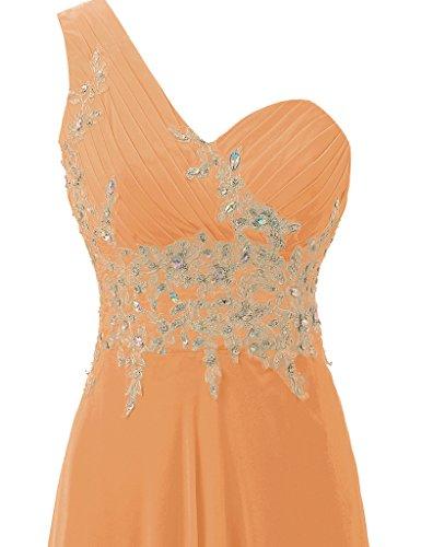 HUINI -  Vestito  - Donna Orange