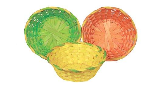 Idena 730413–Cestino di Pasqua, colori assortiti