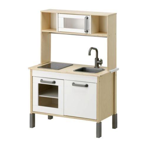 DUKTIG mitwachsende Spielküche Aus Holz - ab drei Jahren - 72x40x109 cm