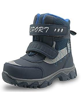 Best-choise Zapatos Para Niños Zapatos de Suela de Caucho Resistente a La Abrasión Botines de Nieve Para Senderismo...