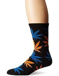 Huf Plantlife Crew black/blue/orange Calcetines