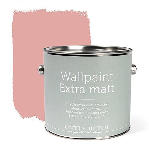 LITTLE DUTCH 8707 Wandfarbe matt vintage pink 2,5 Liter