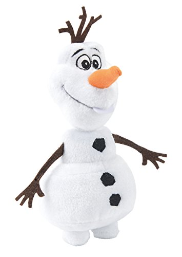 Simba Olaf Muñeco de Nieve Felpa Negro, Marrón, Naranja, Color Blanco - Juguetes de Peluche (Muñeco de Nieve, Negro, Marrón, Naranja, Color Blanco, Felpa, 350 mm)