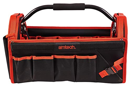 65106613dba7 Am-Tech Tool Caddy Bag - mango de aluminio, N0545