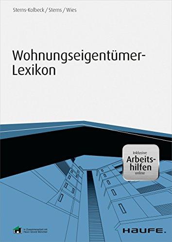 Wohnungseigentümer-Lexikon - inklusive Arbeitshilfen online (Haufe Fachbuch)