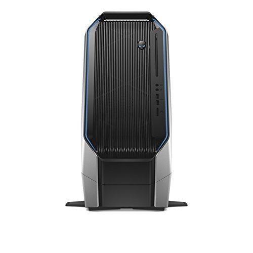 Dell Alienware Area 51 R2 Desktop (Core i7-6800K, 16GB RAM, Dual Festplatte: 256GB/4TB, dual nVidia GTX 1070 8GB nFE, W10 H) silber Alienware I7 16gb