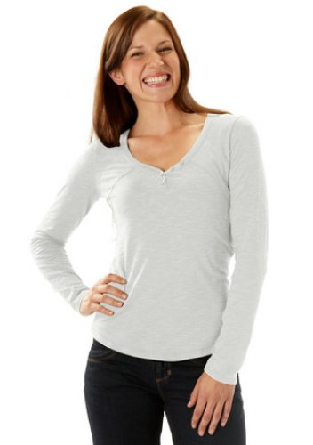 Horny Toad Damen Rookie Long Sleeve Top chrome