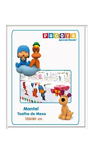 Pocoyo - Mantel plástico, 120x180 cm (Verbetena 016000385)