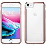 iPhone 8 Case   Pelican Adventurer Case - fits iPhone 6/6s/7/8 (Clear/Metallic Rose Gold)