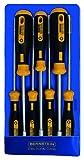 Bernstein Werkzeug Steckschlüssel Euroline-Power im Etui, 7-teiliger Satz, 6-100