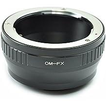 Adaptador de lentes para Olympus OM a Fujifilm Fuji FX X-Pro1 X-M1 X-A1 X-E1