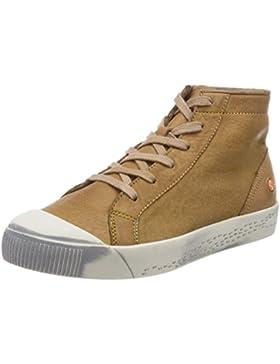 Softinos Damen Kip448sof Washed Hohe Sneaker