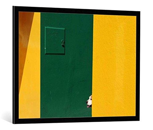 image-encadree-paolo-luxardo-st-impression-dart-decorative-en-cadre-de-haute-qualite-100x75-cm-noir-