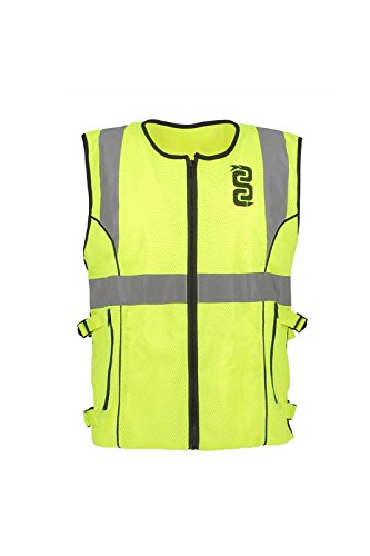OJ Gilet Net Flash, Giallo, Taglia 5XL-6XL