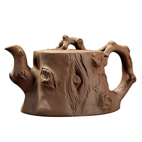 Purple Sand Rice Stone Kung Fu Teapot Tea Pot Home Electric Ceramic Stove Kettle Ceramic Boiling Teapot Quart Flame Top