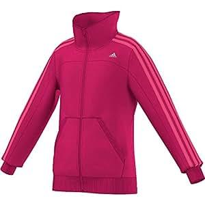 adidas Performance Kinder Trainingsjacke rosa 170